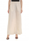 Wide Leg Trousers In Beige