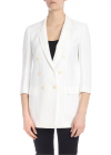 Interrogare 4 Long Jacket In White