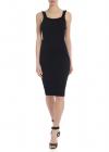 Doris Longuette Dress In Black