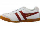 Harrier Classic Trainers In White Red