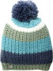 Stripe Pom Knit Hat