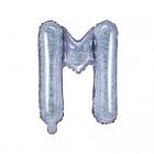"Balon Folie Litera ""m"" Holografic 35cm"