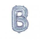 "Balon Folie Litera ""b"" Holografic 35cm"