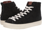 C216 High Top With Cut Out Tea Rose   Suede