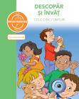 Carte Cu Autocolante   Descopar Si Invat Cele Cinci Simturi  dupa Metoda Montessori