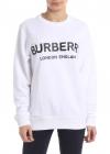Burberry London England Sweatshirt In White