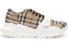 Vintage Check Regis Sneakers