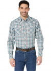 Rock 47 Long Sleeve Plaid Snap
