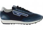 Vintage effect Sneakers In Blue