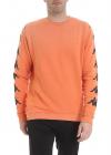 Danilo Paura X Kappa Uzai Sweatshirt In Orange