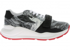 Landscape Printed Sneakers In White And Black