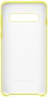 Samsung Protectie Pentru Spate Silicon Yellow Pentru Galaxy S10