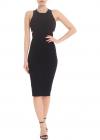 Betty Longuette Dress In Black