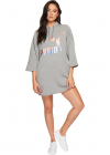 Glam Oversized Hooded Dress