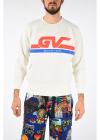 Natural Vintage Fit Printed Sweatshirt