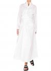 Chemisier Maxi dress In White
