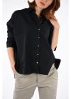 Stretch Cotton Bluse