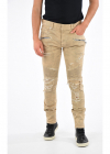 Distressed Vintage Effect Pants