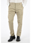 Stretch Cotton Casual Pants