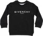 Black Sweatshirt With Vintage Rubberized Logo