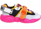 Teddy Fluo Sneakers In Fuchsia