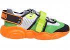 Teddy Fluo Sneakers In Orange