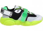 Teddy Fluo Sneakers In Green