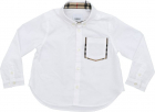 Harry Shirt In White With Check Details