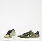 Velvet Embroidered Sneakers