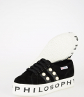 Philosophy Sneakers With Pearls