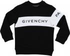 Black Sweatshirt With White Band