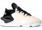 Sneaker Y 3 Kaiwa In Tessuto Tecnico E Pelle Color Burro E