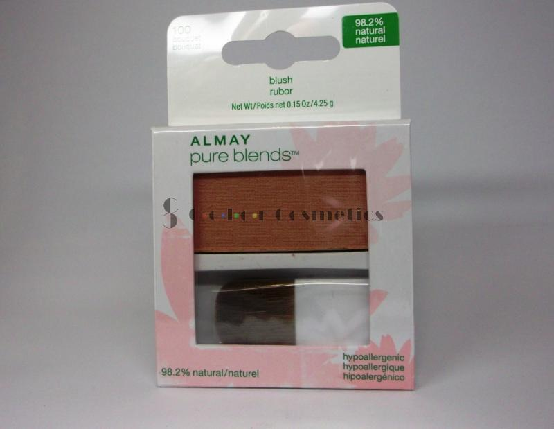 Blush compact Almay pure blends 98.2% natural - Bouquet