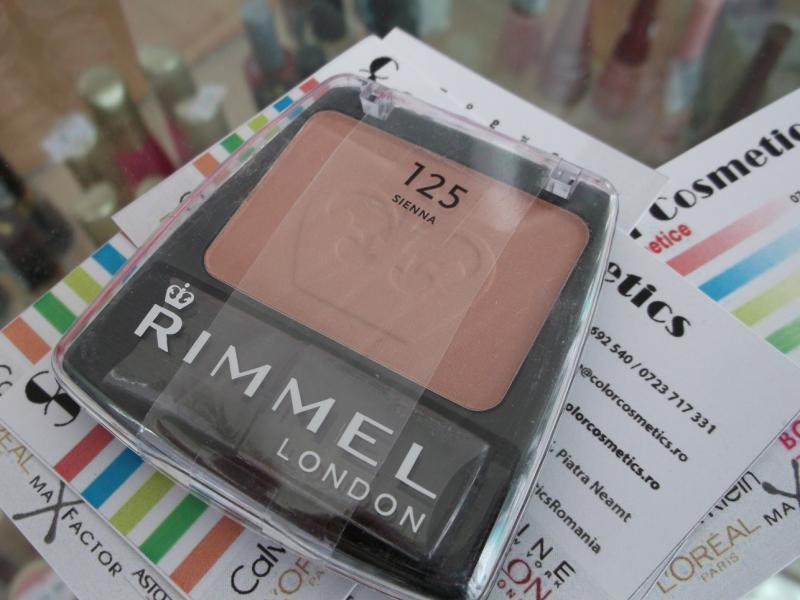 Blush Rimmel Lasting Finish Blendable powder blush - Sienna