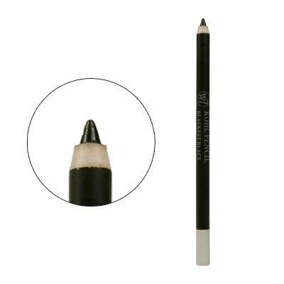 Creion dermatograf W7 Kohl - Blackest Black