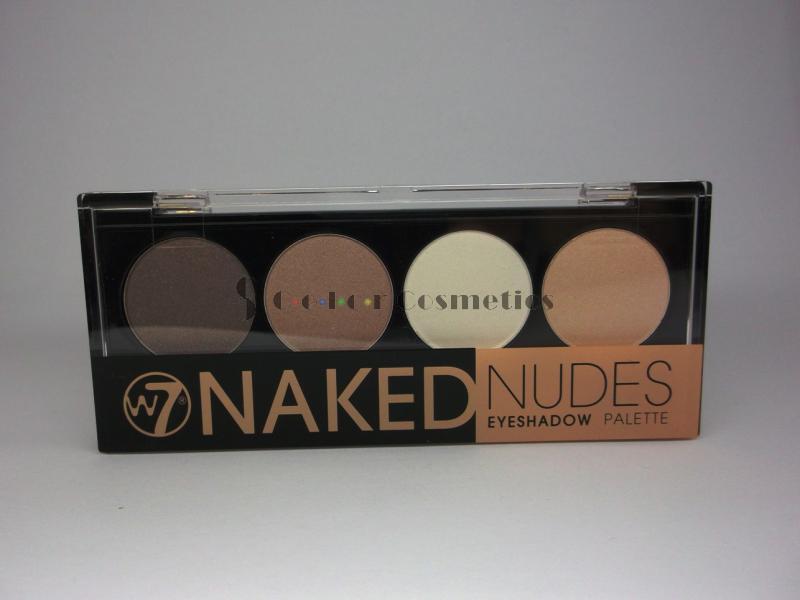 Paleta Farduri W7 - Naked Nudes