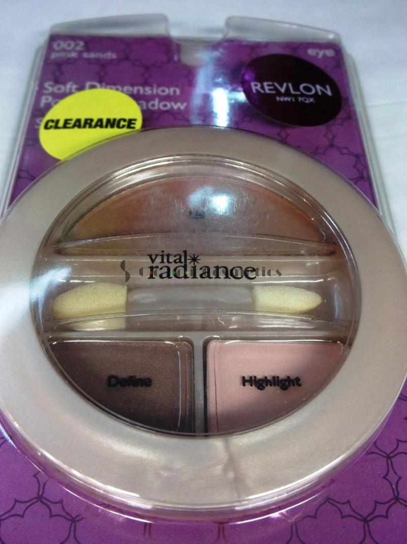 Paleta farduri Revlon Soft Dimension Eye Shadow Trio - Pink sands