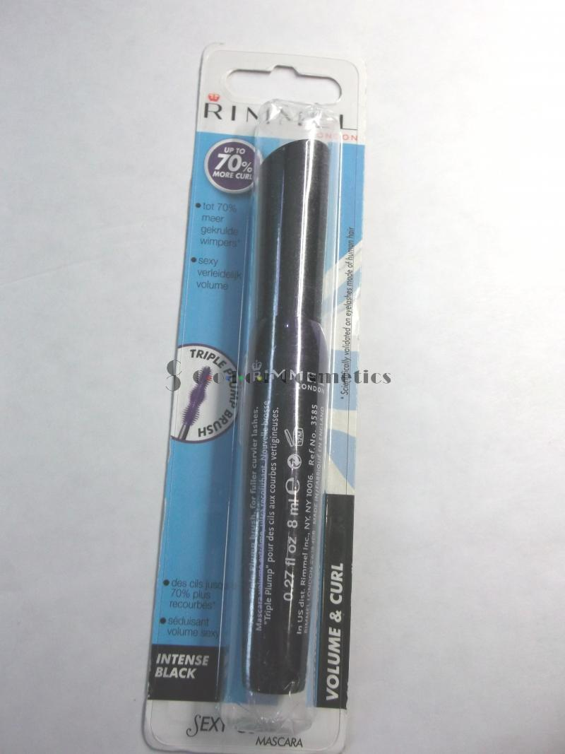 Mascara Rimmel Sexy Curves - Intense Black