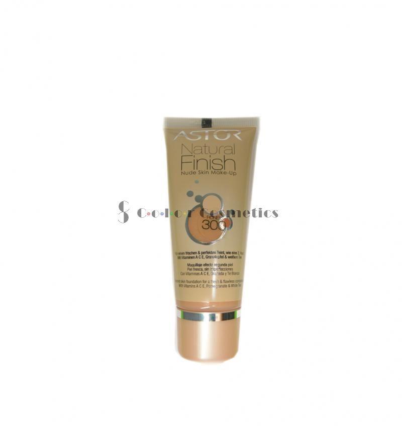 Fond de ten Astor Natural Finish Nude Skin Make-up - Honey