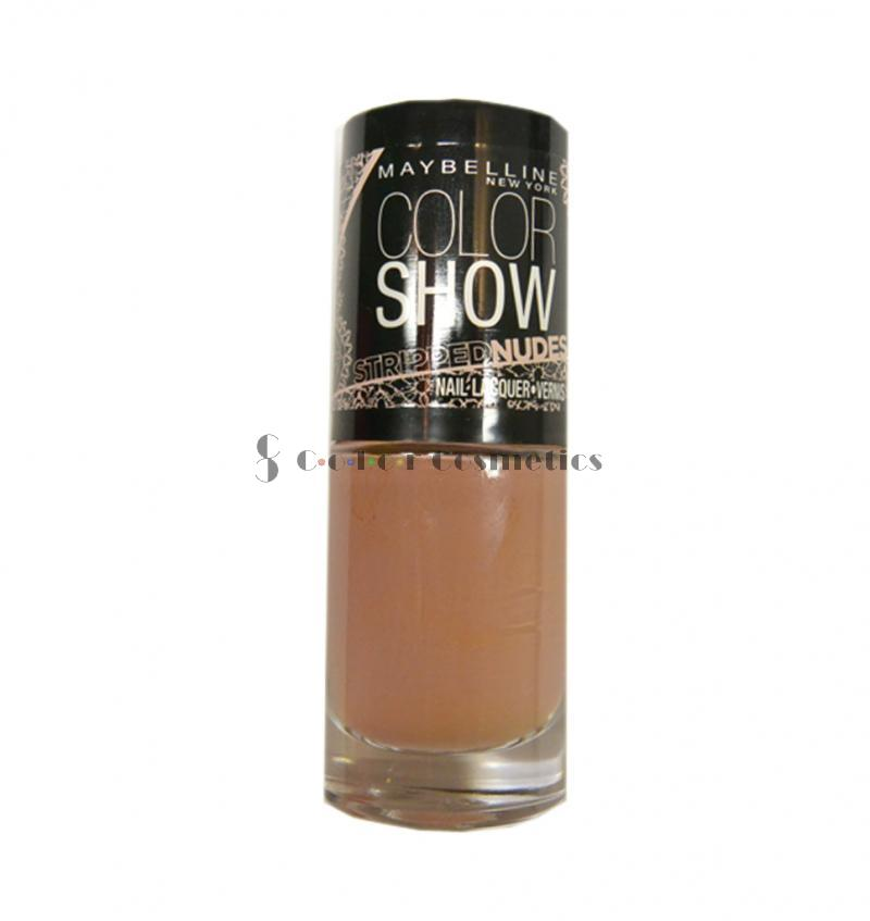 Oja Maybelline Color Show Stripped Nudes - In your flesh