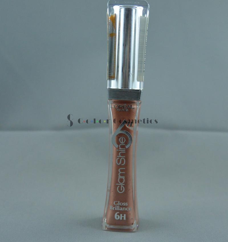 Lip Gloss L 'Oreal Glam Shine 6H Gloss Brillance - Everlasting Beige