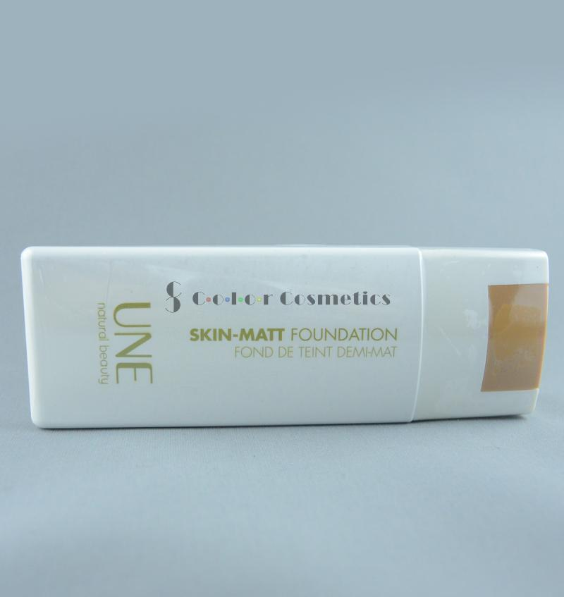 Fond de ten natural UNE Skin-Matt Foundation - M12