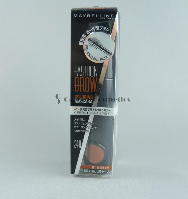 Mascara pentru Sprancene Maybelline Fashion Brow Coloring Mascara - 01