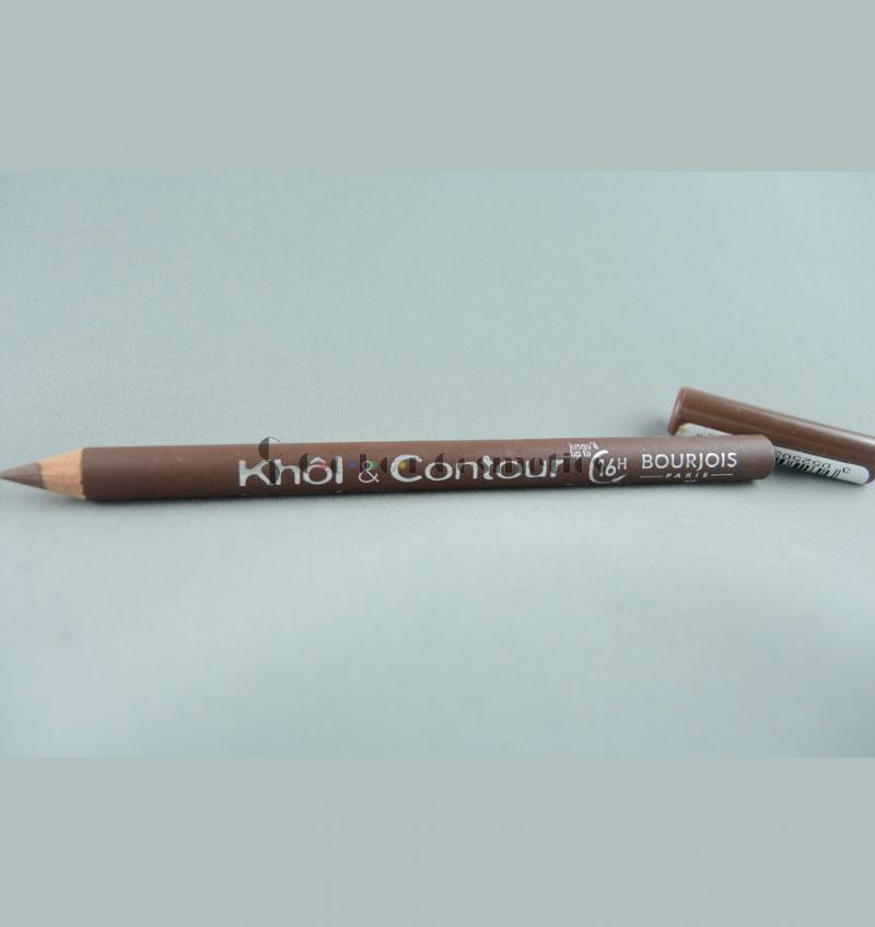 Creion dermatograf Bourjois Khol & Contour 16h eyeliner - Brun Delicieux