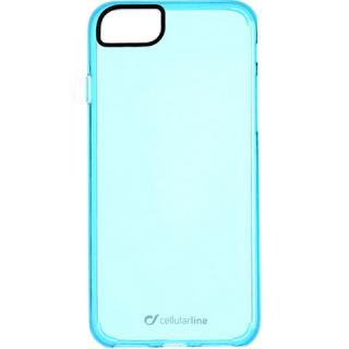 Husa Capac Spate Clear Color Albastru Apple iPhone 7, iPhone 8