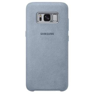 Husa Capac Spate Alcantara Verde SAMSUNG Galaxy S8