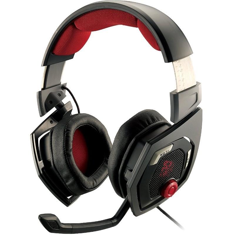 Casti gaming Over-Head Tt eSPORTS Shock 3D 7.1 Black