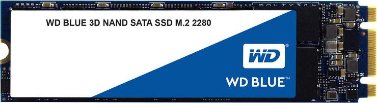 SSD WD Blue 3D NAND 250GB SATA-III M.2 2280