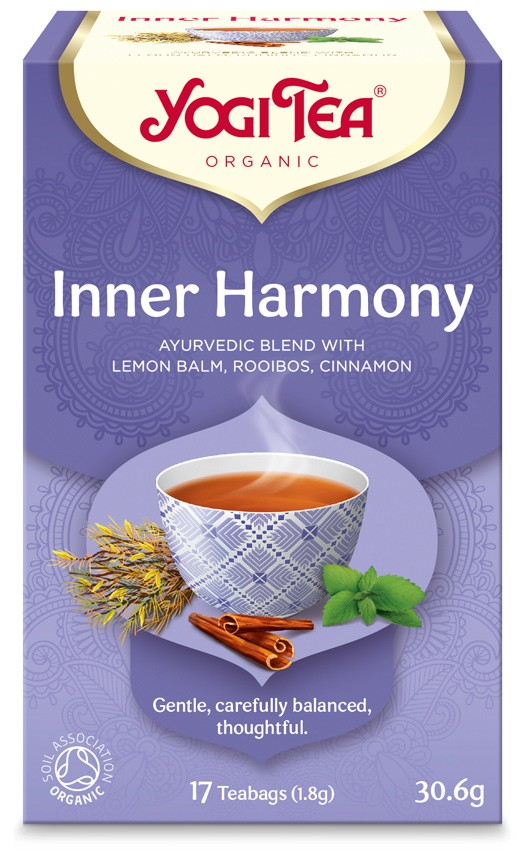 Ceai Bio Armonie Interioara - Yogi Tea, 30.6gr