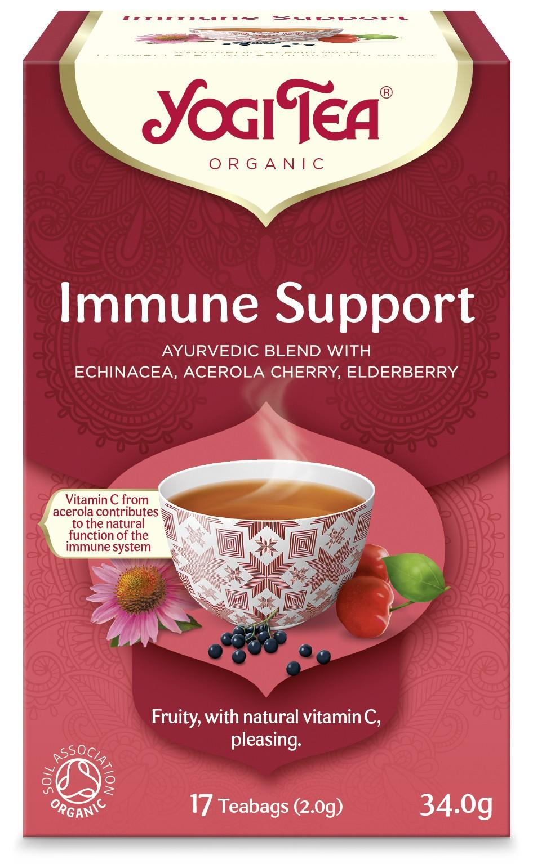 Ceai Bio SPRIJIN IMUNITAR Yogi Tea, 34.0 g